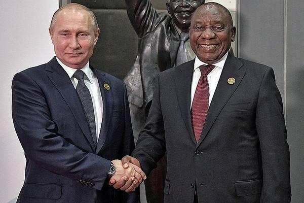 Путин заявил о необходимости сотрудничества между РФ и Африкой