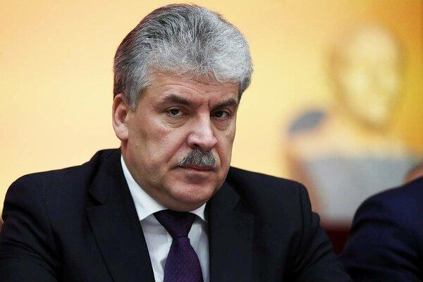 Грудинин: «У меня нет средств на выплаты по иску на 1 млрд рублей»