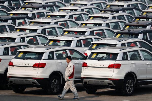 Китай начал экспортировать подержанные авто в Россию