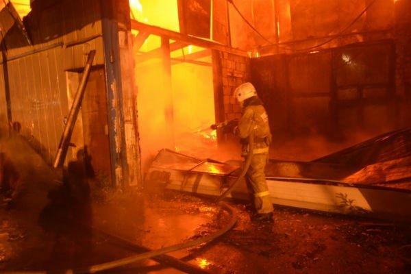 На фабрике по производству меховых изделий Пятигорска случился пожар