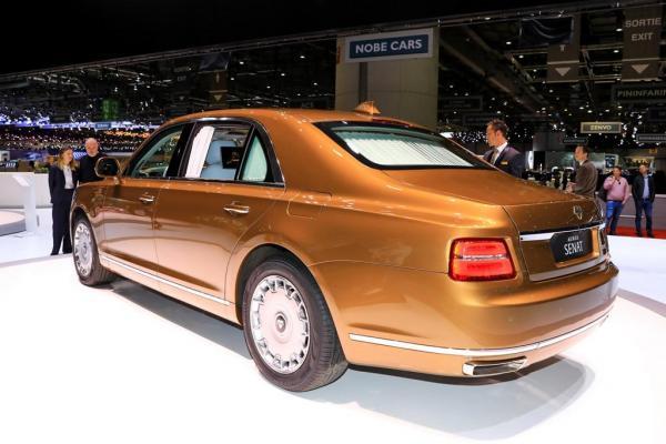 «Президентский» Aurus теперь стоит дешевле на 10 млн рублей
