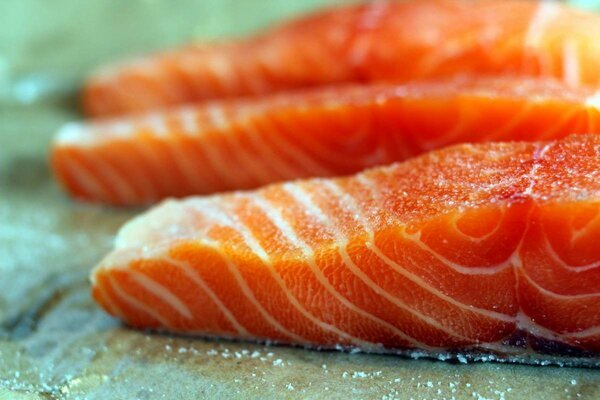 В России выросли цены на лосося